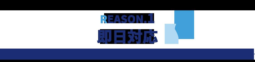 REASON.1 即日対応