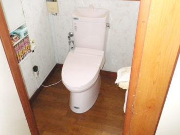 静岡県 伊豆の国市 H様邸 トイレ リフォーム施工事例
