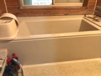 安心して気持ちよく入りたい【浴室解体・大工工事】システムバスリフォーム/1・2日目