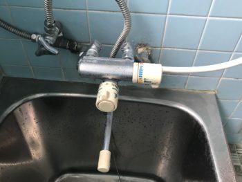 静岡県伊豆の国市/浴室水栓交換 S様邸/【浴室水栓交換】