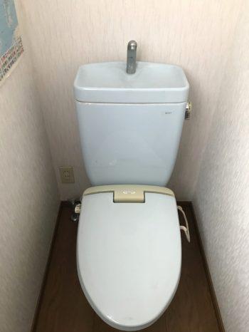 静岡県東部地区/トイレリフォーム T様邸/【トイレ交換工事】